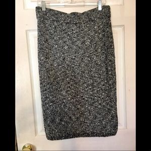 Ann Taylor Sweater Midi Skirt- Patterned